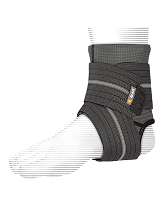 Picture of ANKLE SLEEVE WITH COMPRESSION WRAP SUPPORT