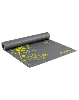 Picture of FITNESS MAT BASIC - ANTHRACITE-YELLOW