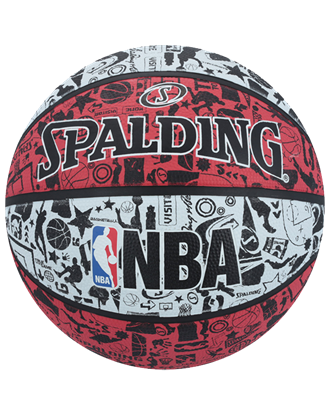 Picture of NBA Graffiti Size 7 Rubber Bas