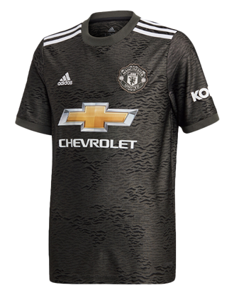 Picture of Manchester United Youth Away Jersey 20/21