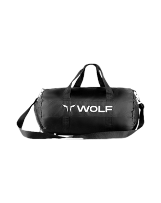 Picture of Squat Wolf Holdall Black