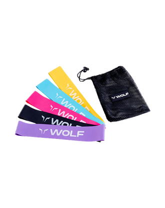 Picture of Squat Wolf Mini Power BAND Multicolour