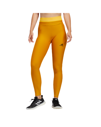 Picture of adidas Women's Alphaskin Cold Ready Long Tights - Yellow