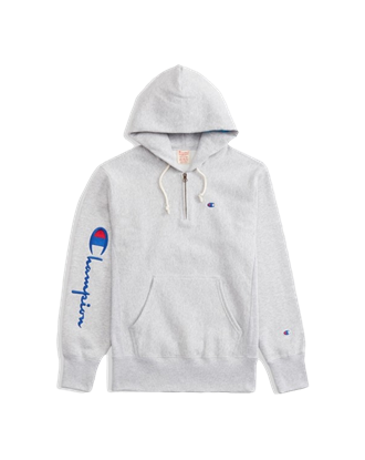 Picture of Champion Girls' Hooded Half Zip Sweatshirt