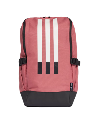 Picture of adidas 3 Stripe Response Backpack - Dark Pink/Black