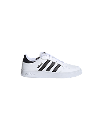 Picture of adidas Men's Breaknet Tennis Shoes - White/Black