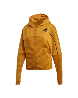 Picture of adidas Women's Z.N.E. COLD.RDY Athletics Hoodie - Yellow