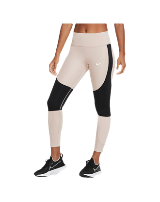 Picture of Nike Women's Epic Luxe Run Division Running Leggings - Beige/Black