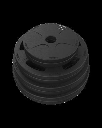 Picture of Eleiko Vulcano Disc Set - 100 kg, black
