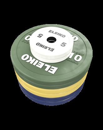 Picture of Eleiko Sport Training Disc Set - 100 kg, coloured