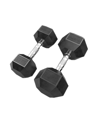 Picture of Eleiko XF Dumbbell - 12, 14, 16, 18, 20 kg Pair