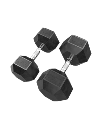 Picture of Eleiko XF Dumbbell - 22, 24, 26, 28, 30 kg Pair