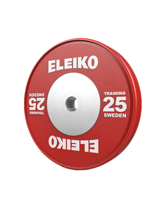 Picture of Eleiko IWF Weightlifting Training Disc - 25 kg